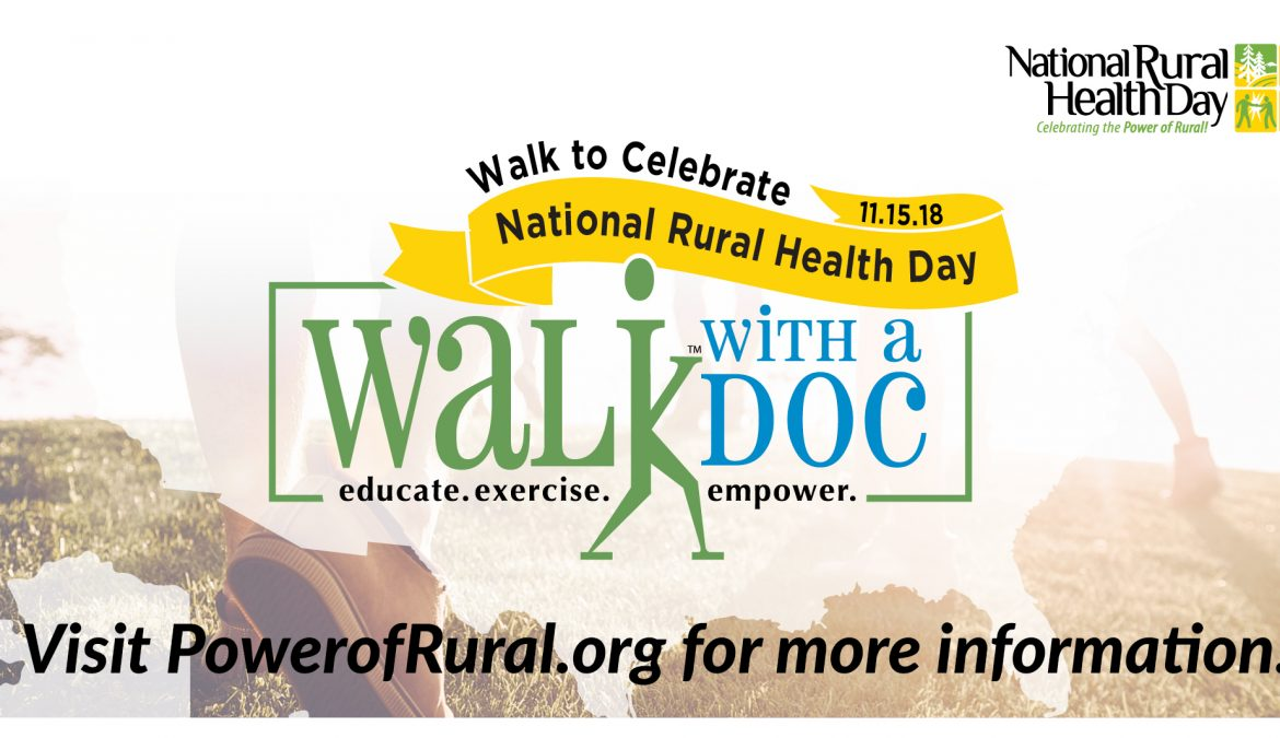 National Rural Health Day Walk